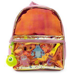 NWT Monsters Inc. Backpack w/Cute Mike Dangle